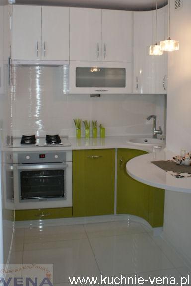 Mała kuchnia w bloku - Meble kuchenne Lublin Vena