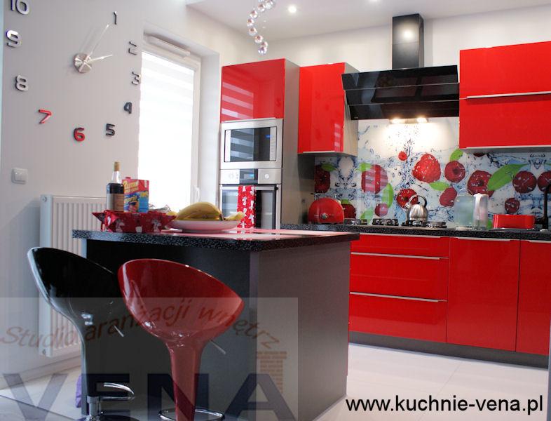 Meble kuchenne Lublin Vena - ściany w kuchni